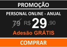 Personal Trainer Online - Plano Anual